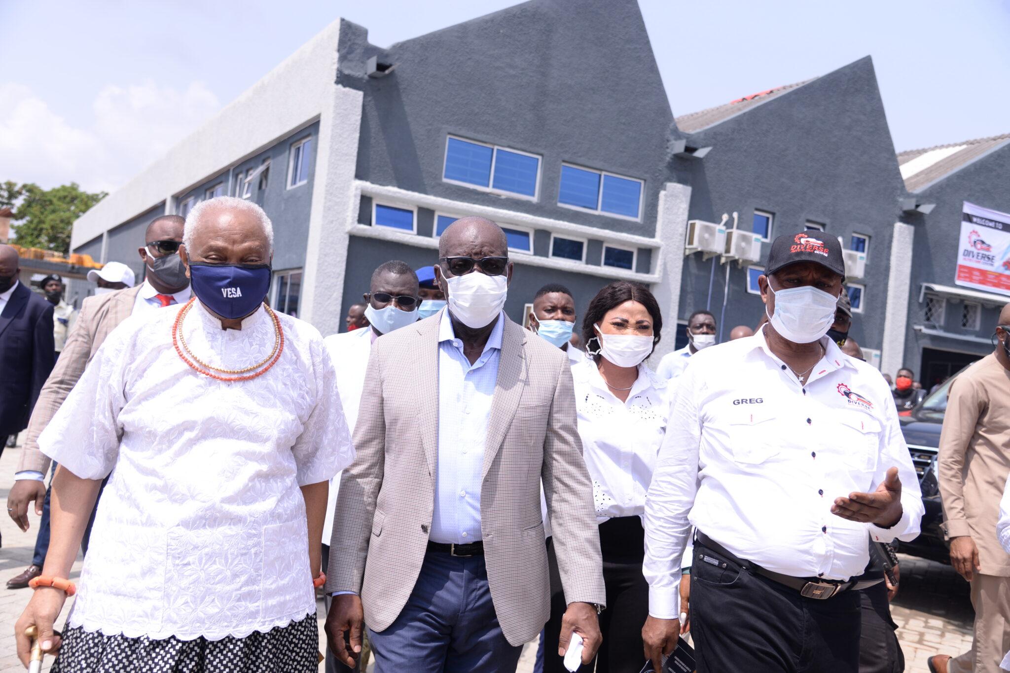 Business File: Edo State Govt Inaugurates Autocare Centre - Arbiterz